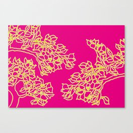 Vivid Bonsai Canvas Print