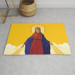 Mary Queen of Heaven Rug