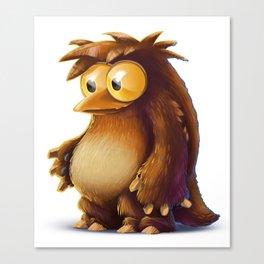 Hugging Ursine Owl Canvas Print