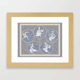 Amino Acid Horoscope - Overlay Framed Art Print