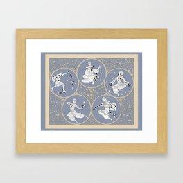 Amino Acid Horoscope - Overlay Framed Art Print