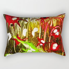 The Lights Fireworks Rectangular Pillow