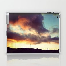 San Francisco Sutro Tower with Moody Clouds Laptop & iPad Skin