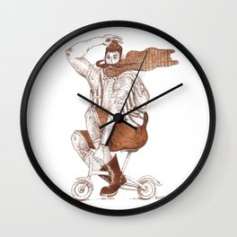 Hype Ride Wall Clock