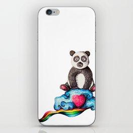Panda On A Cloud iPhone Skin