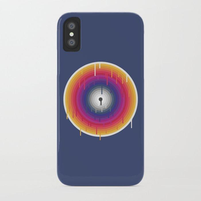 Core Meltdown iPhone Case