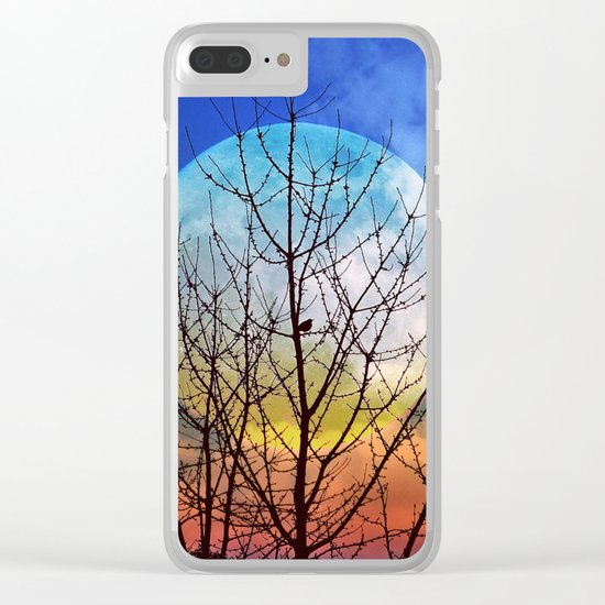 The moonwatcher Clear iPhone Case