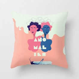 Anamoly Throw Pillow