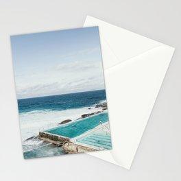 Pool Side, Sea Side Stationery Cards