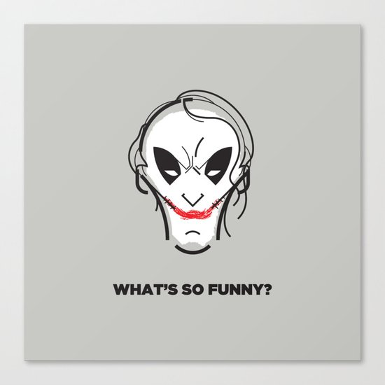 What's so funny? Canvas Print