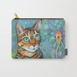 Kitty's Daydream by Robynne Carry-All Pouch