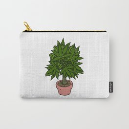 Blushing Cannabis Carry-All Pouch