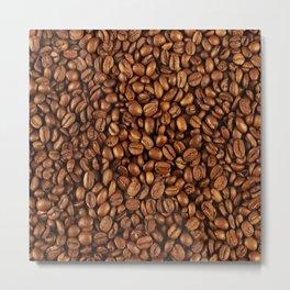 Roasted coffee Metal Print