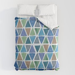 Triangles Duvet Cover