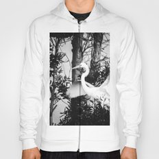 Great Egret In The Trees Hoody