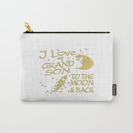I Love My GrandSon to the Moon and Back Carry-All Pouch