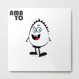 AMA YO Metal Print