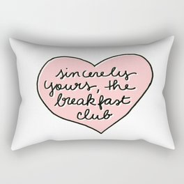 sincerely yours Rectangular Pillow
