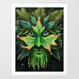 The Greenman Art Print