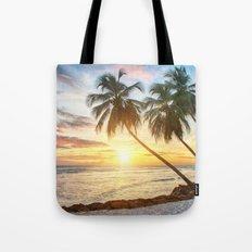 Palms Sunset Tote Bag