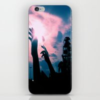 concert iPhone & iPod Skins featuring Concert by Leah Galant