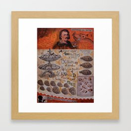 L'appetito di BALZAC Framed Art Print