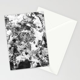 Winter - Study In Black And White Stationery Cards