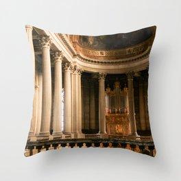Versailles Palace Chapelle Throw Pillow