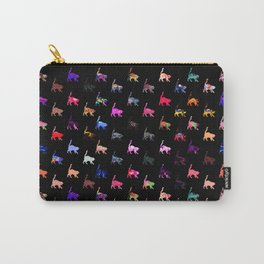 Pretty Cats - Black Carry-All Pouch