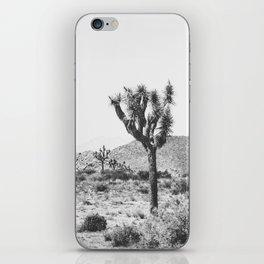 Joshua Tree Monochrome, No. 1 iPhone Skin