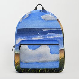 Seacoast in Watercolor Backpack