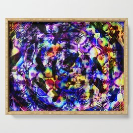 Abstract fn Serving Tray