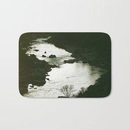 I'll be here at the waters edge Bath Mat