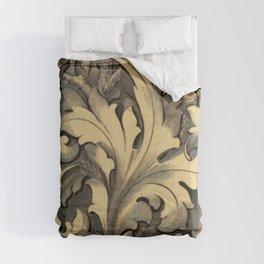 Curvilinear Foliage Comforters
