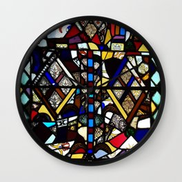 Beauty in Brokenness Andreas 4 Wall Clock