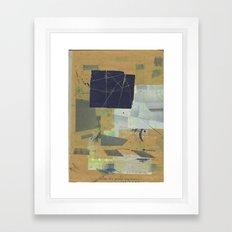 sedimenti 81 Framed Art Print