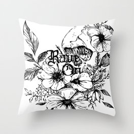 Rave On Throw Pillow
