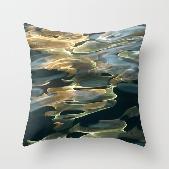 Water / H2O #42 Throw Pillow