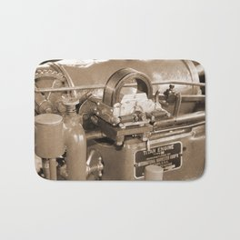 Titan Engine - International Harvester Corporation. Chicago USA. Sepia Bath Mat