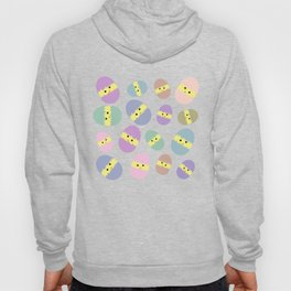 Multi Coloured Easter Eggs with Chicks Hoody