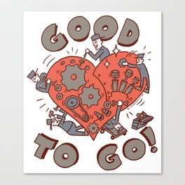 Good to go Canvas Print