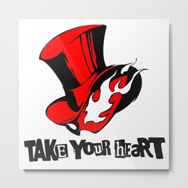Take Your Heart Metal Print