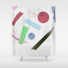 Geometry 4 Shower Curtain