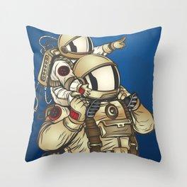 Astronauts Throw Pillow
