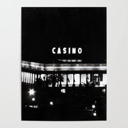 Black & White-Casino Poster