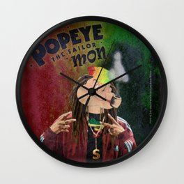 POPEYE THE SAILOR MON - 018 Wall Clock