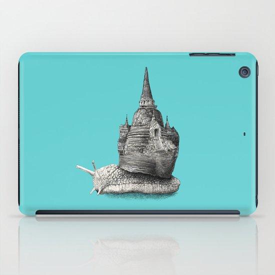The Snail's Dream (monochrome option) iPad Case