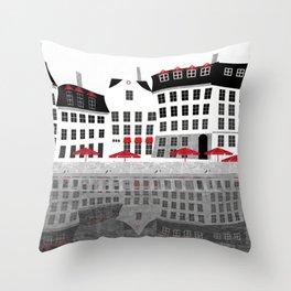 Nyhavn 1 Throw Pillow