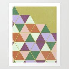 Hexaflexagon Art Print