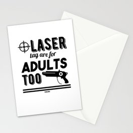 Phaser laser tag game spell Stationery Cards